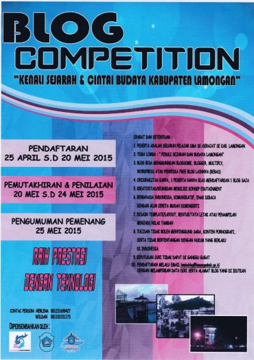 LOMBA BLOG COMPETITION